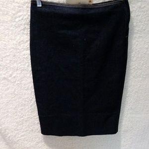 Zara stretch Denim pencil skirt